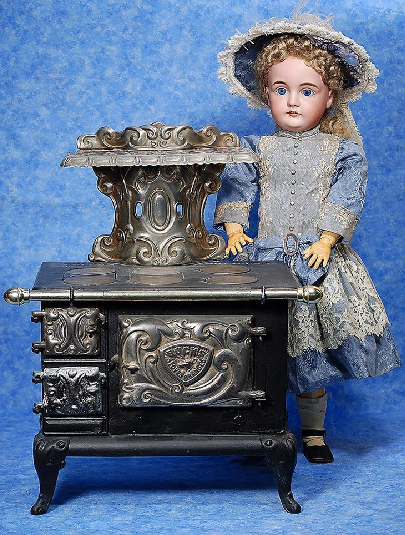 66. GERMAN BISQUE DOLL BY KESTNER. Marks: L. made in 15