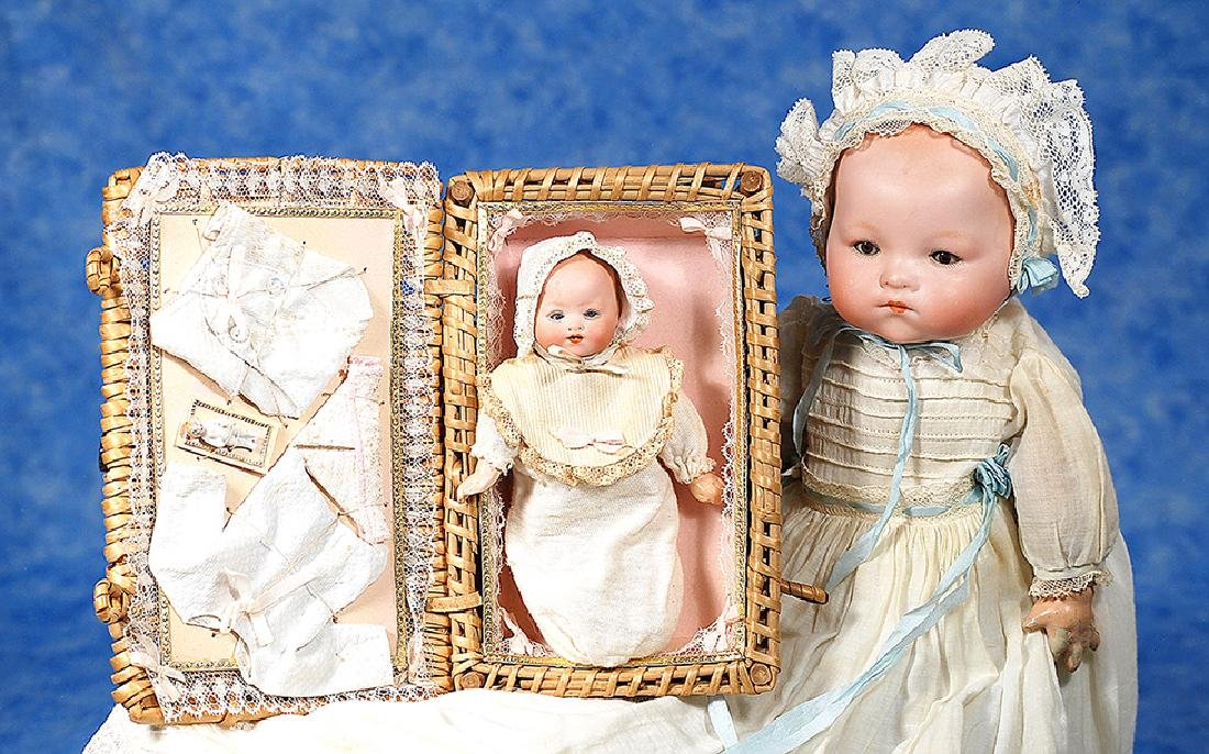 67. GERMAN BISQUE INFANTS BY MARSEILLE. Includes 5