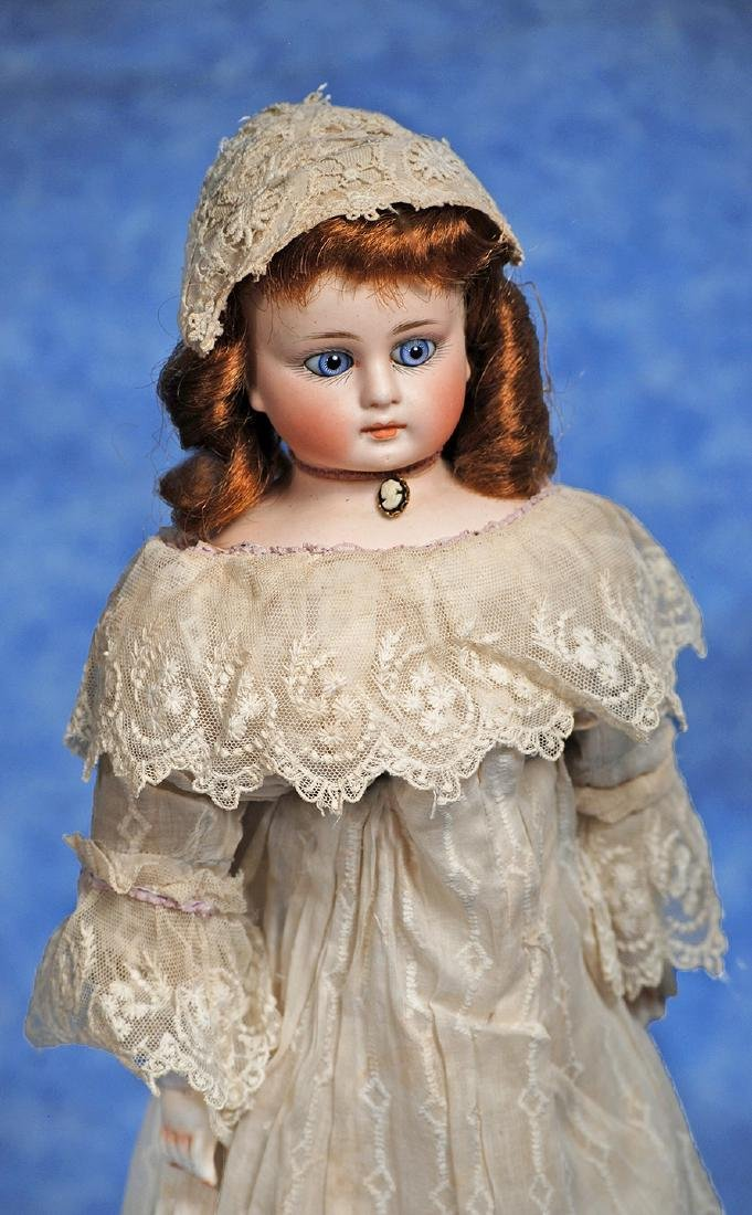 70. GERMAN BISQUE CLOSED-MOUTH DOLL - MYSTERY MAKER.