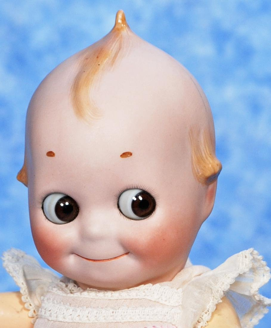 95. RARE, LARGE-SIZE, BISQUE KEWPIE WITH COMPOSITION - 2