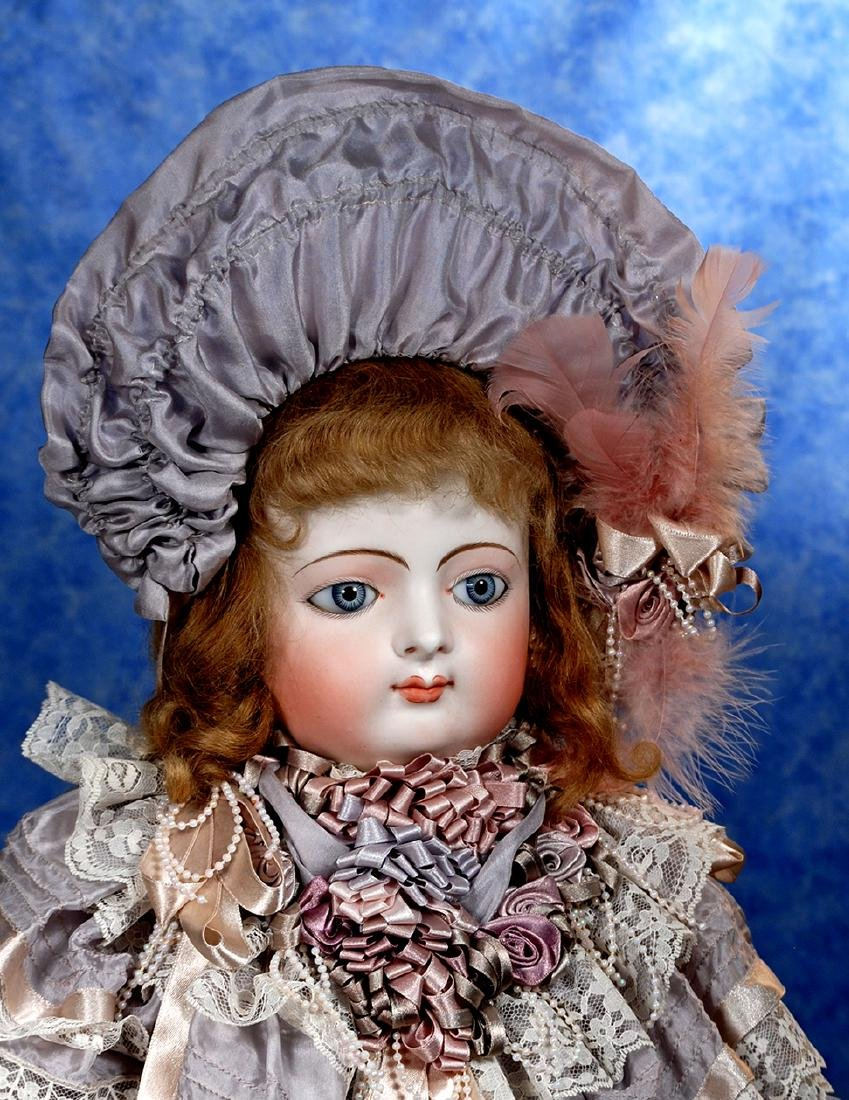 100. FRENCH BISQUE BEBE WITH FABULOUS FACE-MYSTERY