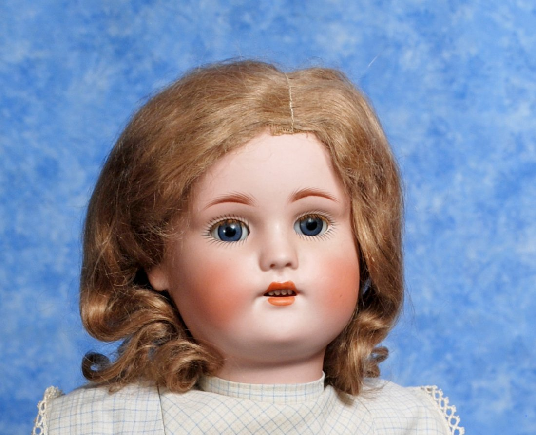 109. GERMAN BISQUE CHILD BY SIMON AND HALBIG. Marks: - 2