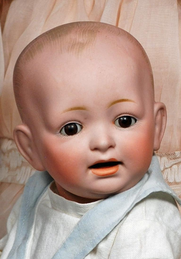 145. GERMAN BISQUE CHARACTER BABY BY KESTNER. Marks: - 2