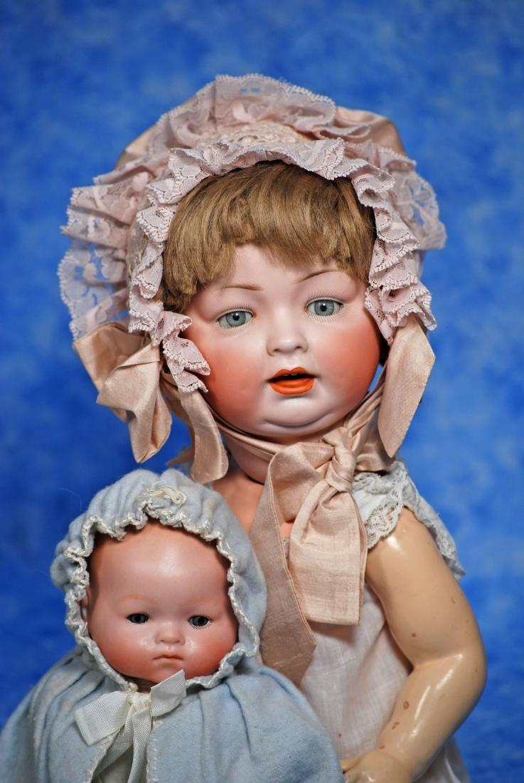 153. GERMAN BISQUE CHARACTER BABY & GERMAN BISQUE - 2