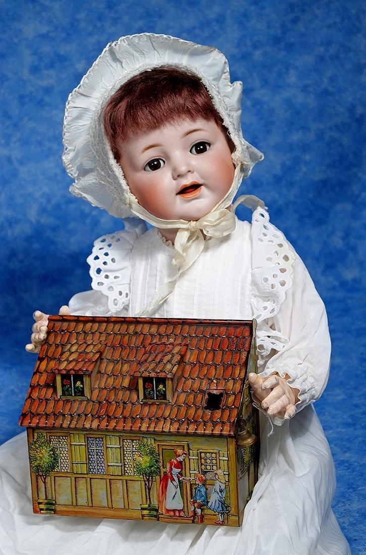 159. KAMMER & REINHARDT BISQUE CHARACTER BABY & ANTIQUE
