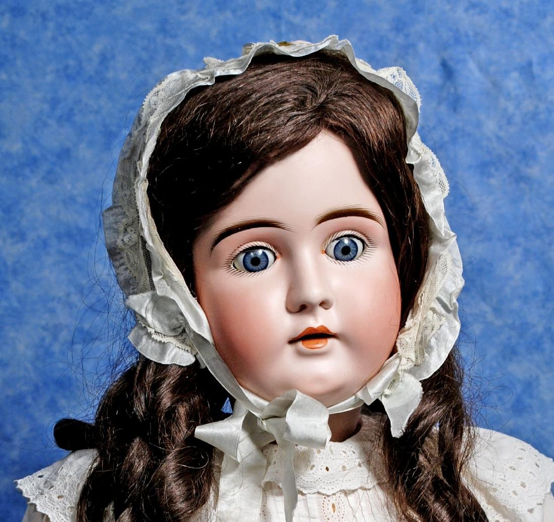 161. GRAND-SIZED, 37-INCH, BISQUE CHILD DOLL BY - 2