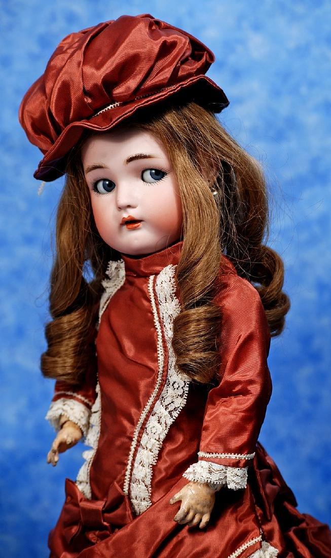 164. GERMAN BISQUE FLIRTY-EYED CHILD BY KAMMER &