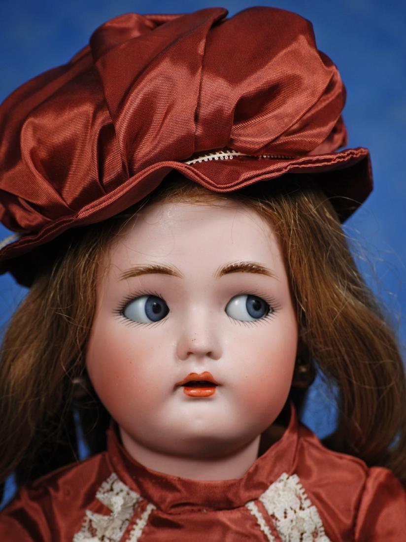 164. GERMAN BISQUE FLIRTY-EYED CHILD BY KAMMER & - 2