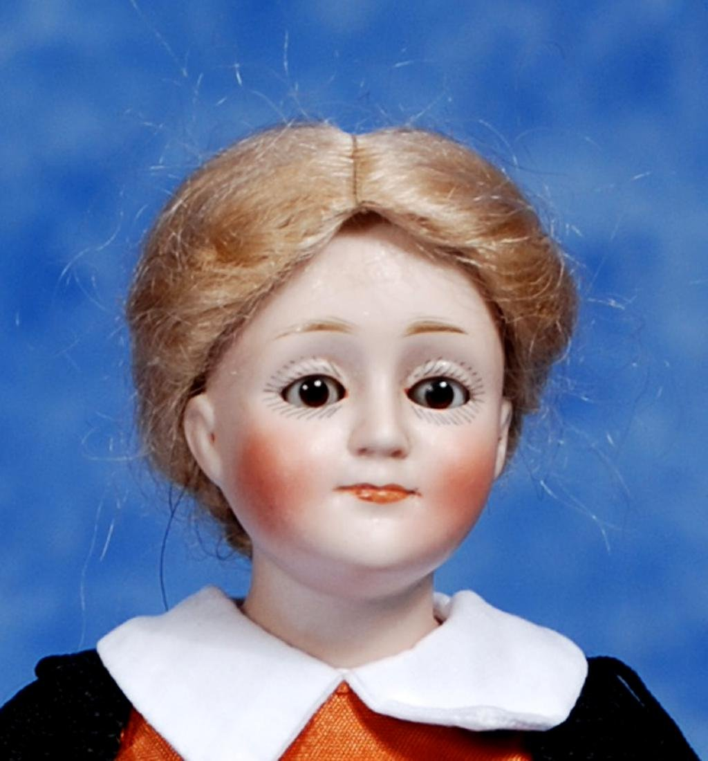 173. PETITE GERMAN BISQUE MODEL OF GIBSON GIRL BY - 2