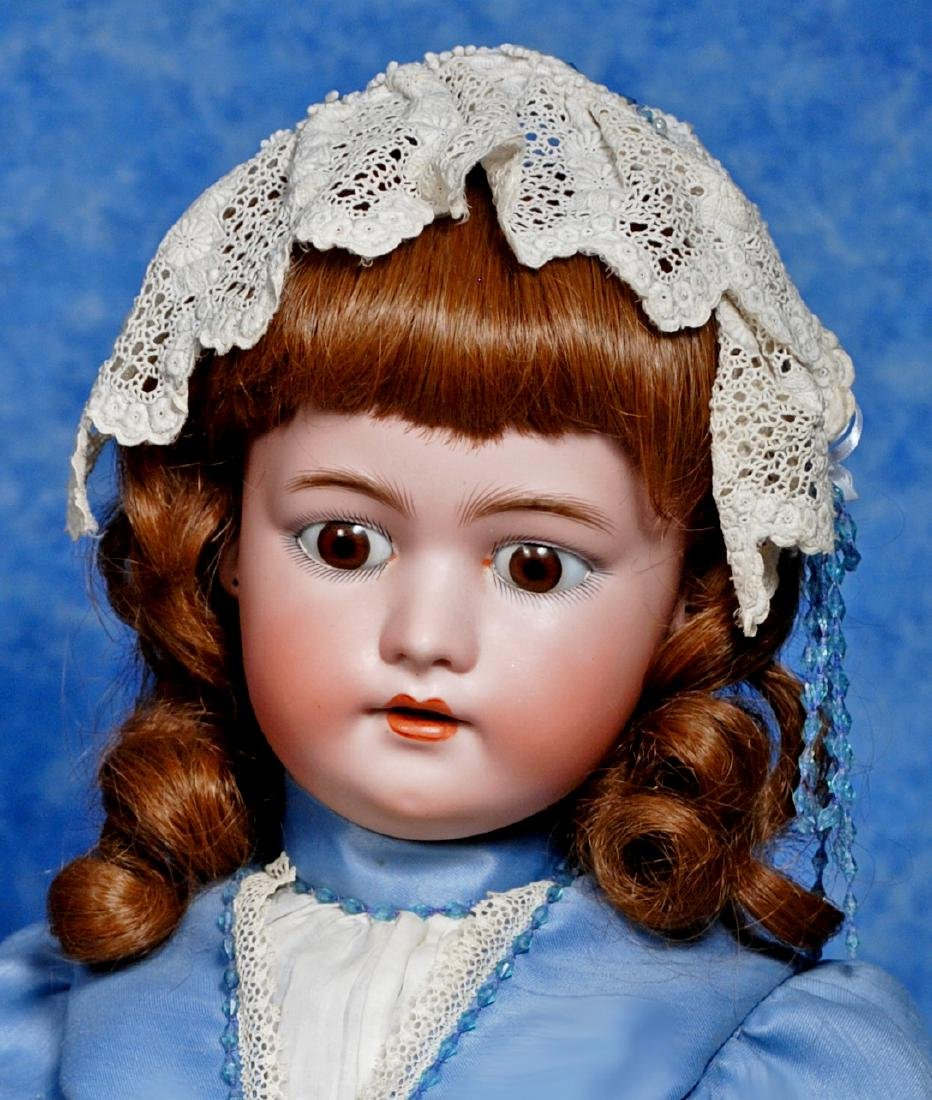 188. LARGE GERMAN BISQUE CHILD BY SIMON & HALBIG. - 2