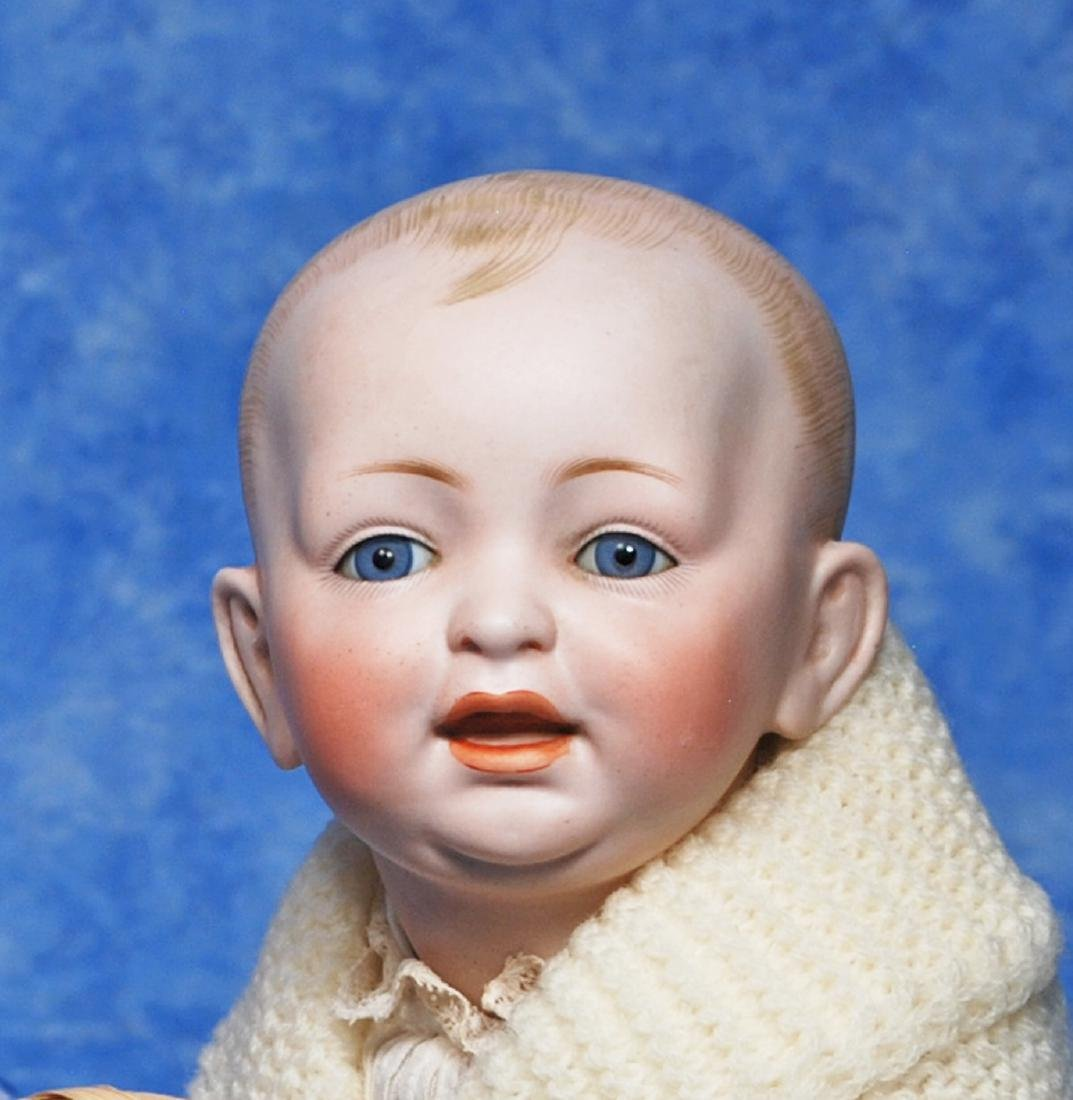 192. GERMAN BISQUE CHARACTER BABY BY KESTNER. Marks: - 2