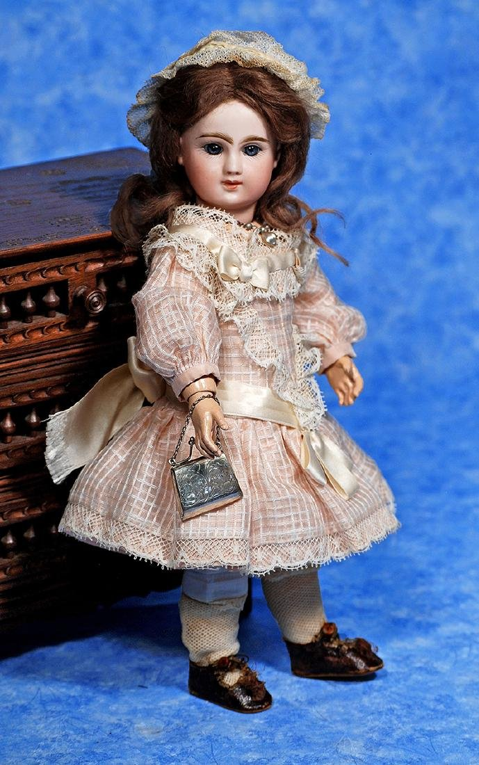 """217. TINY FRENCH BISQUE """"PHENIX BEBE"""" BY"""