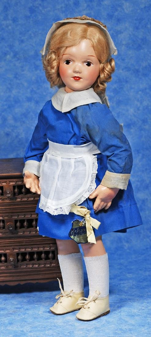 "221. EARLY COMPOSITION DOLL WITH ""MY"