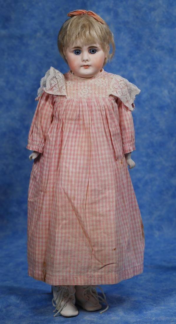 227. GERMAN BISQUE CLOSED-MOUTH DOLL. Marks: 8.