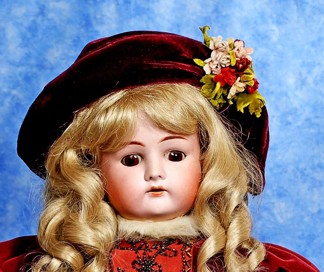 248, GERMAN BISQUE DOLL BY DRESSEL. Marks: Made in - 2
