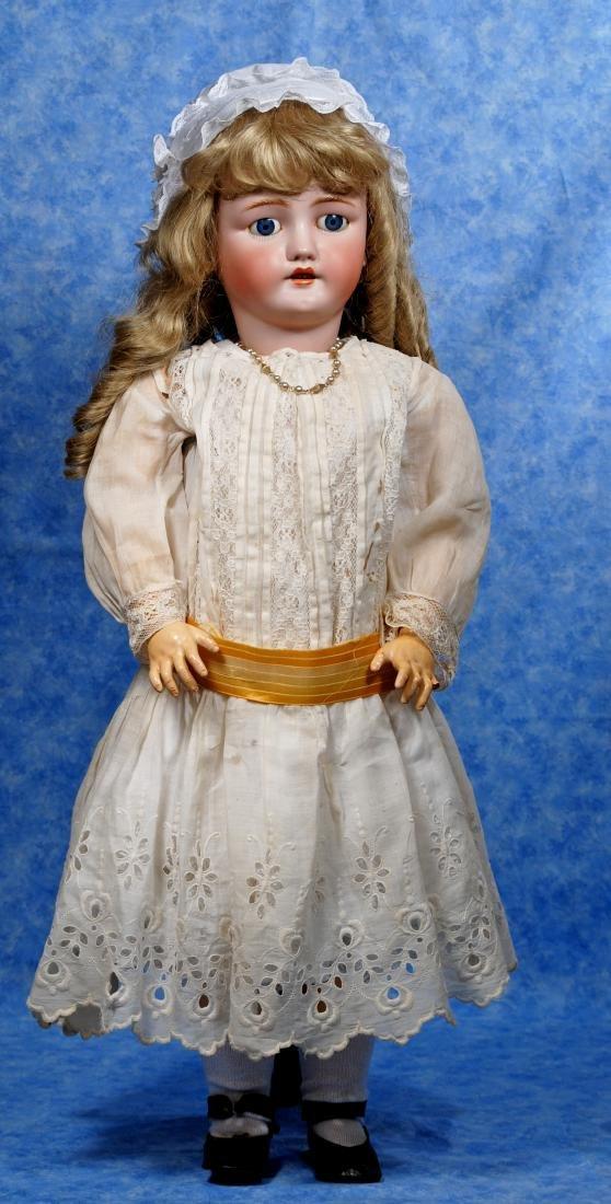 249. LARGE GERMAN BISQUE CHILD BY BERGMANN. Marks: