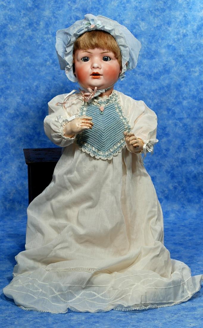 250. GERMAN BISQUE CHARACTER BABY BY BAHR & PROSCHILD.