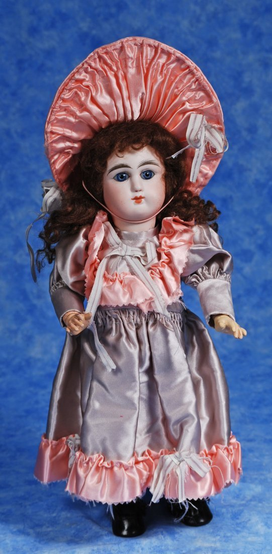 RENCH BISQUE CLOSED-MOUTH DOLL BYJOSEPH JOANNY