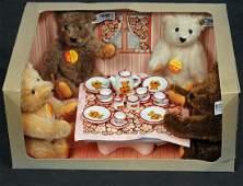 24. STEIFF TEDDY BEAR TEA PARTY. 1982 Limited edition