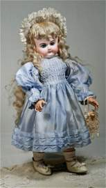 """63. RARE FRENCH BISQUE """"P.D."""" BEBE BY PETIT"""