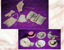 288. DOLL ACCESSORY GROUP. Includes: Four assorted