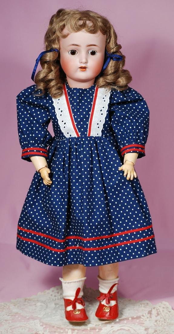 252.  GERMAN BISQUE CHILD DOLL BY ALT, BECK &
