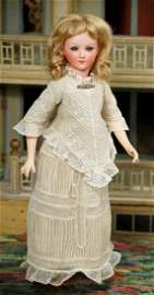 GERMAN BISQUE LADY DOLL, 1469, BY CUNO & OTTO DRESSEL