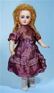 SONNEBERG BISQUE, BELTONTYPE DOLL FOR THE FRENCH MARKET