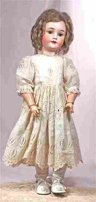 GERMAN BISQUE CHILD DOLL BY KLEY AND HAHN