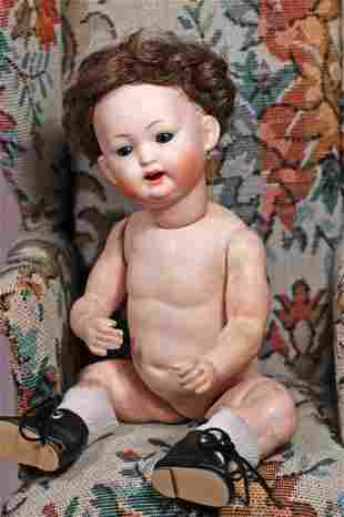 GERMAN BISQUE CHARACTER BABY BY KLEY & HAHN