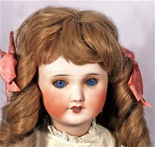 PETITE FRENCH BISQUE DOLL BY SFBJ