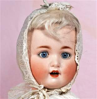 GERMAN BISQUE CHARACTER BABY BY SCHUETZMEISTER & QUENDT