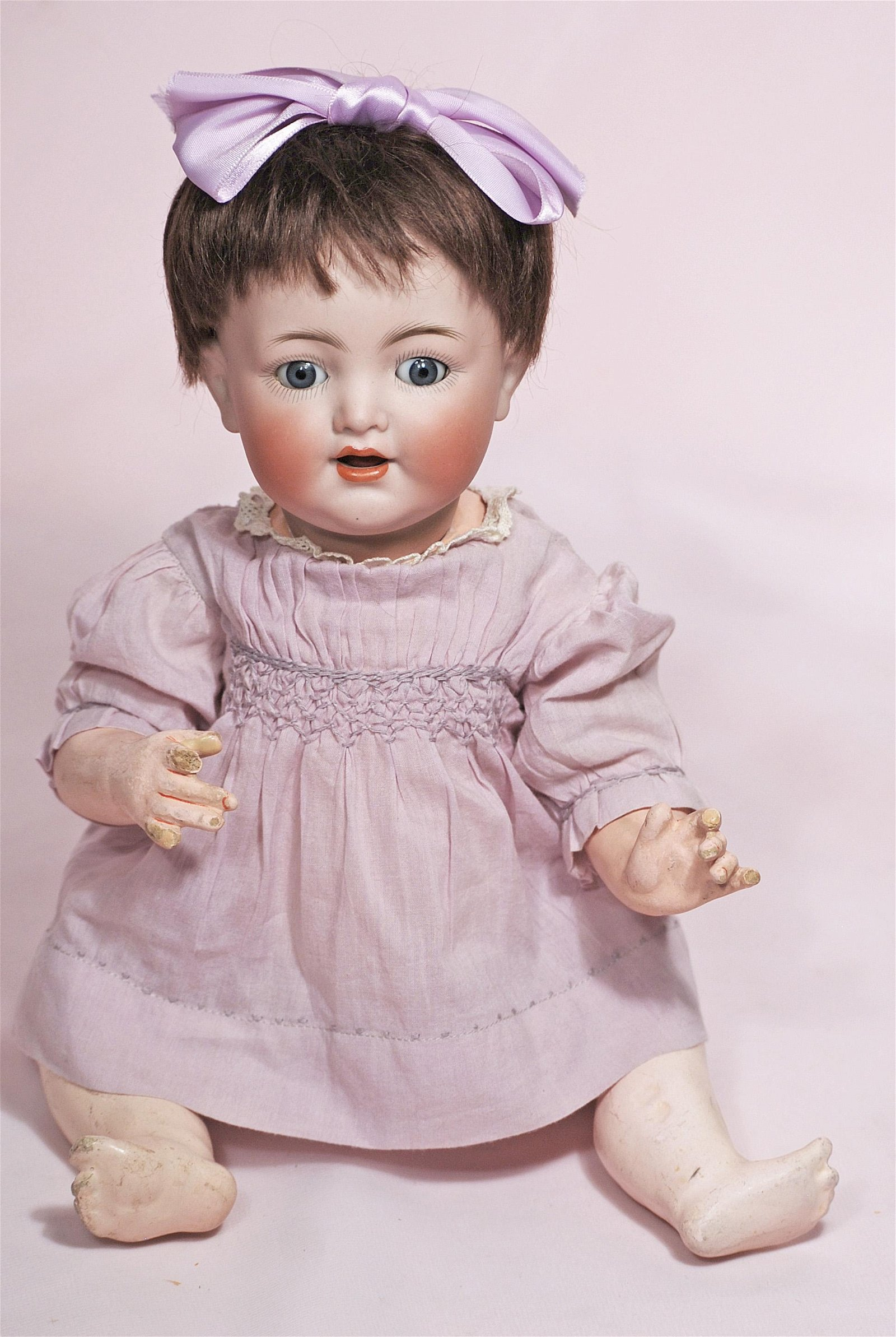 GERMAN BISQUE CHARACTER BABY BY KAMMER AND REINHARDT