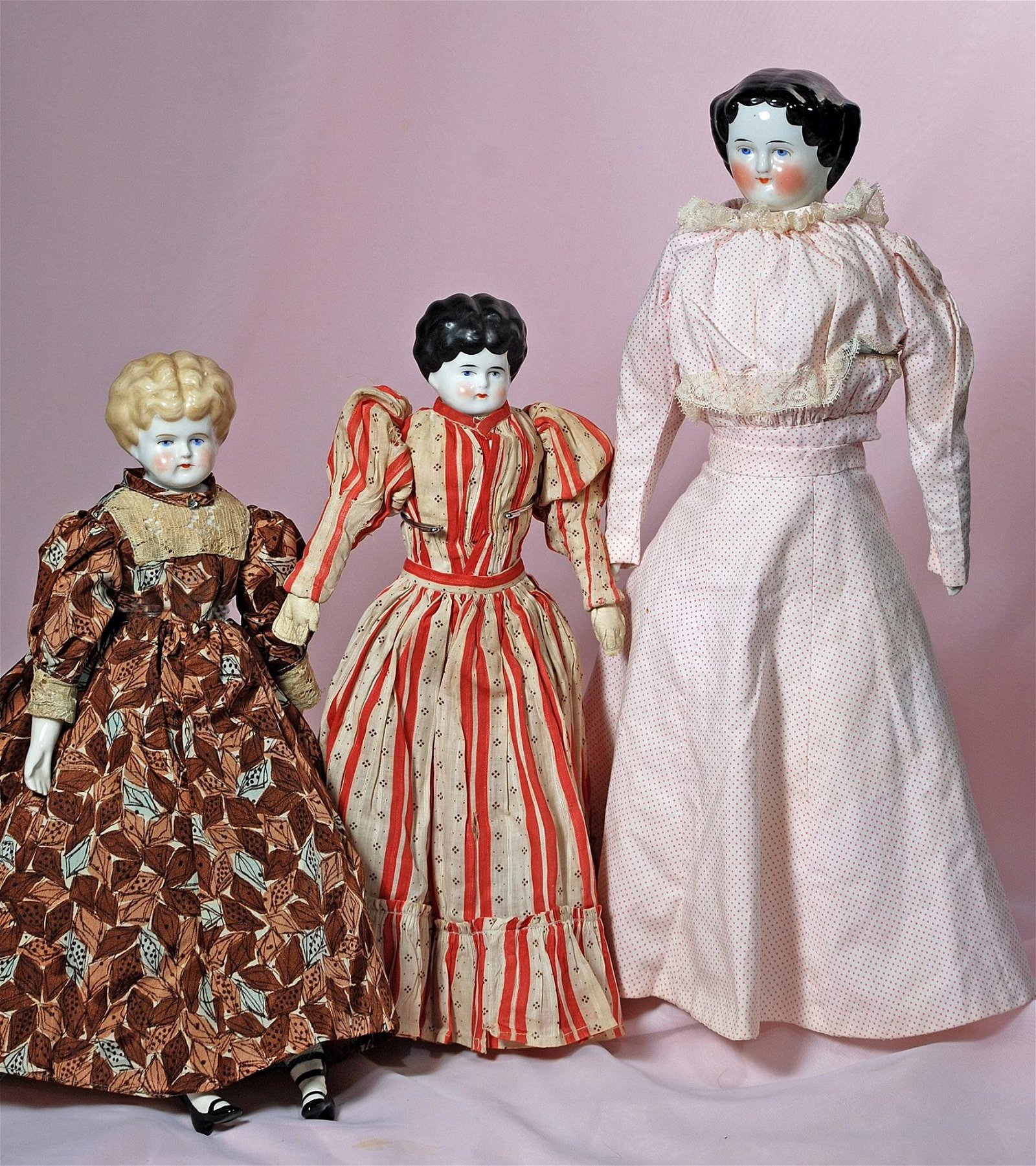 THREE CHINA DOLLS