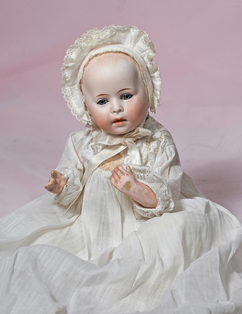GERMAN BISQUE CHARACTER BABY, D