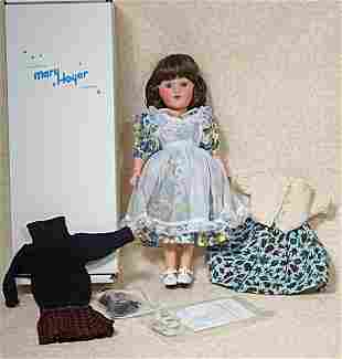 MARY HOYER COLLECTOR DOLL BY MARY HOYER DOLL CO