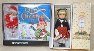 TWO TONNER DOLL CO. MARY ENGELBREIT DOLLS.