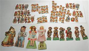TWO ANIMAL SERIES PAPER DOLLS FOR LITTLE FOLKS, PAPER