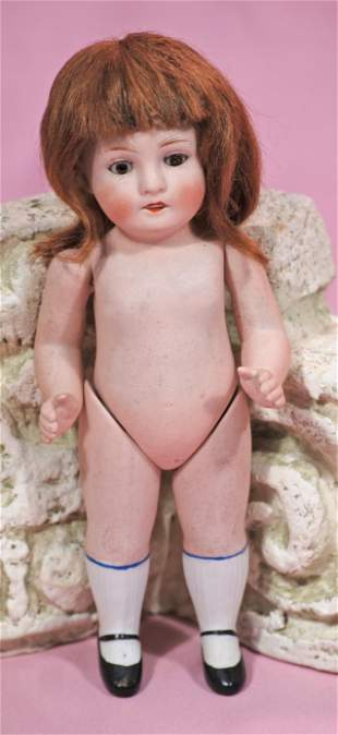 GERMAN ALL-BISQUE DOLL