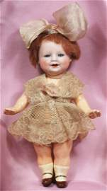 """TINY GERMAN BISQUE """"BONNIE BABE"""" BY AVERILL"""