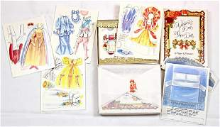 LARGE LOT OF UNCUT PAPER DOLLS