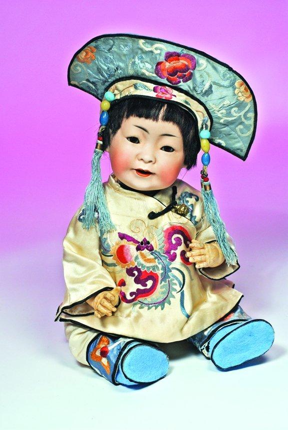 70: KESTNER CHINESE CHARACTER BABY MOLD 243.  Marks:  M