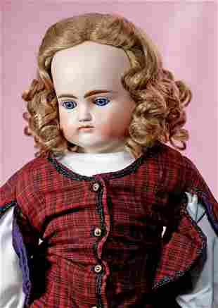 GERMAN BISQUE CLOSED-MOUTH DOLL BY ALT, BECK &