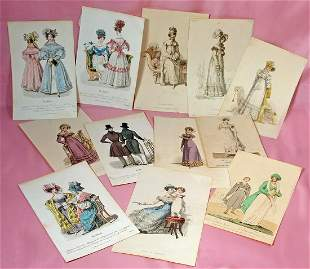 COLLECTION OF EARLY ACKERMANN, LABELLE DE ASSEMBLEE &