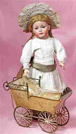 """LOVELY GERMAN BISQUE CHARACTER 117/A """"MEIN LIEBLING"""""""