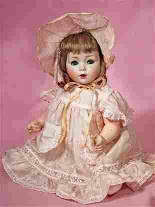 GERMAN BISQUE CHARACTER BABY BY SCHOENAU & HOFFMEISTER.