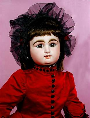 GRAND FRENCH BISQUE BEBE BY RABERY AND DELPHIEU WITH