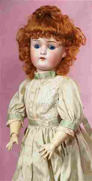 GERMAN BISQUE CHILD WITH SQUARE-CUT TEETH BY KESTNER.