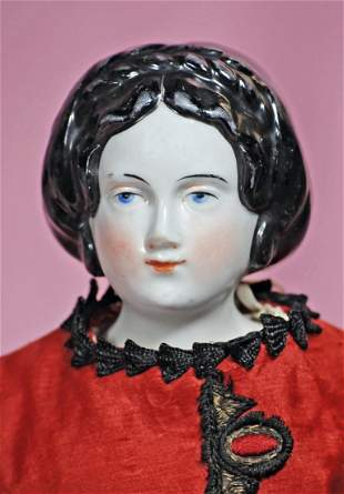 EARLY CHINA WITH ELABORATE COIFFURE