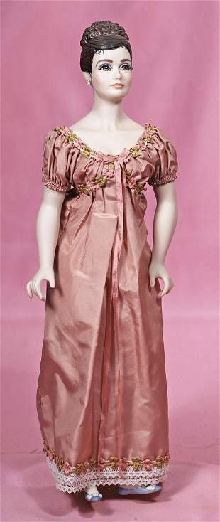 JANETTE BISQUE DOLL BY FAWN ZELLER FOR UFDC 1991